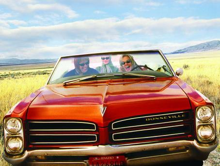 Kathy Bates , Joan Allen and Jessica Lange take off in Arvilla (Lange)'s 1966 Bonneville convertible in 'Bonneville,' a SenArt Films Release.