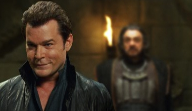 In the Name of the King: A Dungeon Siege Tale Ray Liotta as Gallian and John Rhys-Davies as Merick in .
