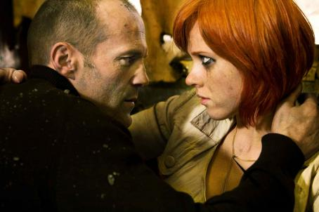 Natalya Rudakova Frank Martin (Jason Statham) and Valentina () in TRANSPORTER 3. Photo credit: Magali Bragard