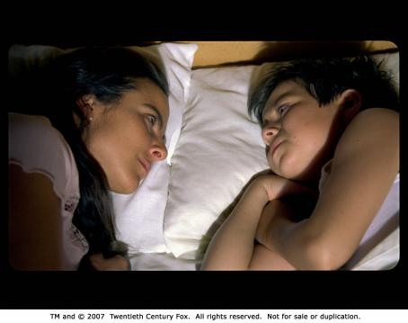 Adrian Alonso From left: Kate Del Castillo and  in UNDER THE SAME MOON. Photo Credit: Courtesy of Fox Searchlight Pictures