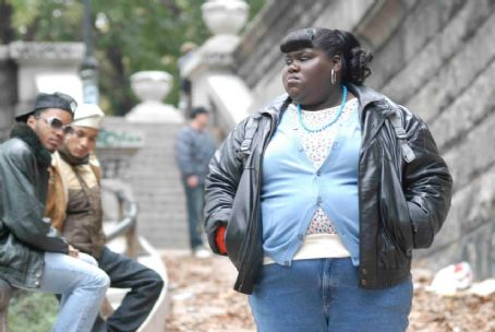 Gabourey Sidibe Gabourey 'Gabby' Sidibe stars as Claireece 'Precious' Jones in PUSH: BASED ON THE NOVEL BY SAPPHIRE. Photo credit: Anne Marie Fox.