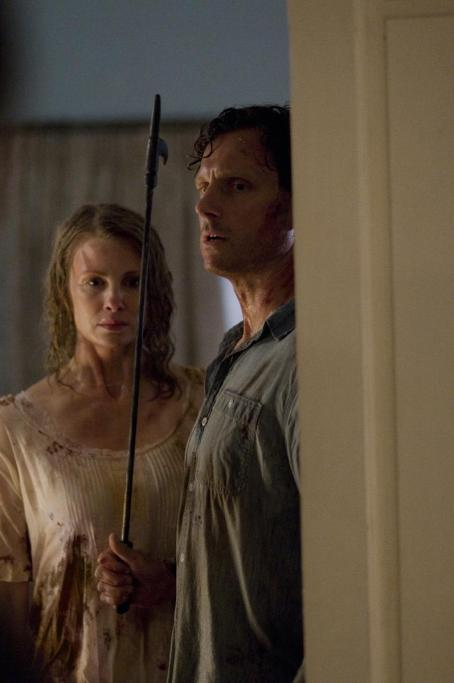 Tony Goldwyn Dr. John (TONY GOLDWYN) and Emma Collingwood (MONICA POTTER) hunt killers in the suspense thriller that explores how far two ordinary people will go to exact revenge on the sociopaths who harmed their child—The Last House on the Left. Credit: Lacey
