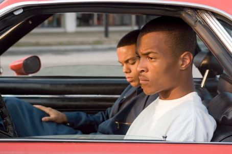 "Evan Ross  portrays Anton 'Ant' Swann and TIP ""T.I."" Harris portrays Rashad Swann in Warner Bros. Pictures' music-driven coming of age story, ATL."