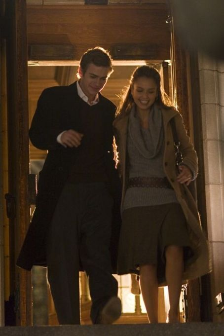 Awake Hayden Christensen star as Clay and Jessica Alba as Sam in The Weinstein Company movie,