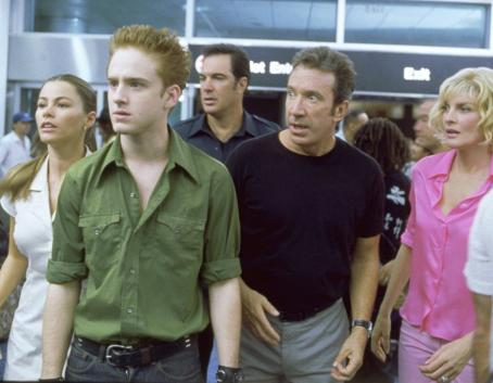 Patrick Warburton Sofia Vergara, Ben Foster,  , Tim Allen, and Rene Russo in Touchstone's Big Trouble - 2002