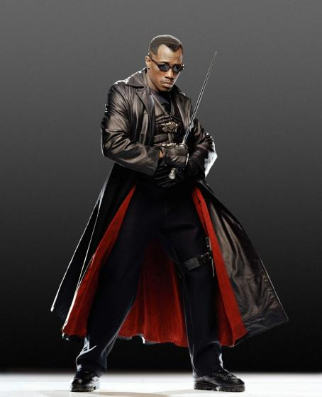 "Wesley Snipes  returns as the day-walking vampire ""Blade"" in the final chapter of New Line Cinema's BLADE franchise, BLADE: TRINITY."
