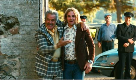 Dennis Farina  as Maurice and Chris Pine as Bo Barrett the winners in Freestyle Releasing 'Bottle Shock.'