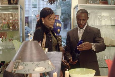 Sanaa Lathan and Taye Diggs in Fox Searchlight's Brown Sugar - 2002