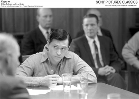 Perry Smith Clifton Collins Jr. as ; Photo by: Attila Dory, courtesy of Sony Pictures Classics, all rights reserved.