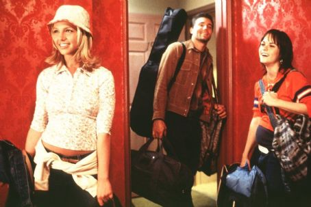 Taryn Manning Britney Spears, Anson Mount and  in Paramount's Crossroads - 2002