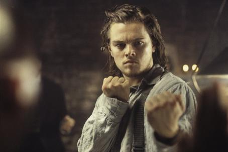 Gangs of New York Leonardo DiCaprio in Miramax's  - 2002
