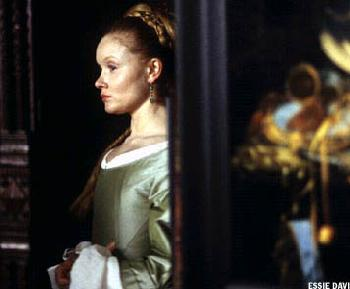 Essie Davis  stars as Catharina in Girl with a Pearl Earring - 2003