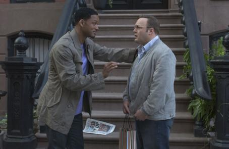 Kevin James Will Smith as Alex Hitchen and  as Albert Brennaman in Andy Tennant's Hitch - 2005