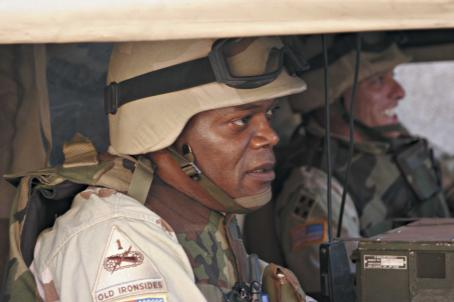 Home of the Brave Samuel L. Jackson stars in the story of three soldiers who return home to the United States after an unexpectedly gruesome tour of duty in Iraq.  HOME OF THE BRAVE opens December 15, 2006 in Los Angeles, New York, Toronto and select cities. Photo by: Phot