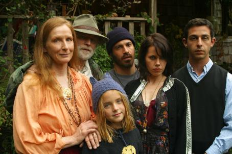 Frances Conroy , Brad Dourif, Madison Davenport, Chris Messina, Fairuza Balk and Jeremy Strong in HUMBOLDT COUNTY, a Magnolia Pictures release. Photo courtesy of Magnolia Pictures.