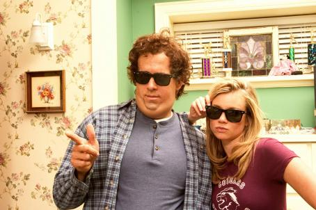"Jamie Palamino Ryan Reynolds as ""Chris Brander"" and Amy Smart as """" in New Line Cinema's romantic comedy JUST FRIENDS."