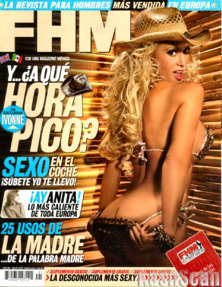 Ivonne Soto - FHM Magazine [Mexico] (May 2006)