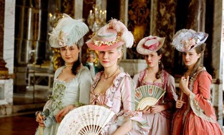 Marie Antoinette Kirsten Dunst (center, as Marie-Antoinette) in Sofia Coppola drama biography '' 2006