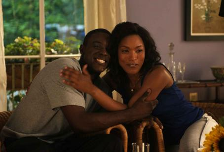 Lance Gross In a scene from TYLER PERRY'S MEET THE BROWNS, Angela Bassett (as Brenda) and  (as Michael). Photo Credit: Alfeo Dixon.