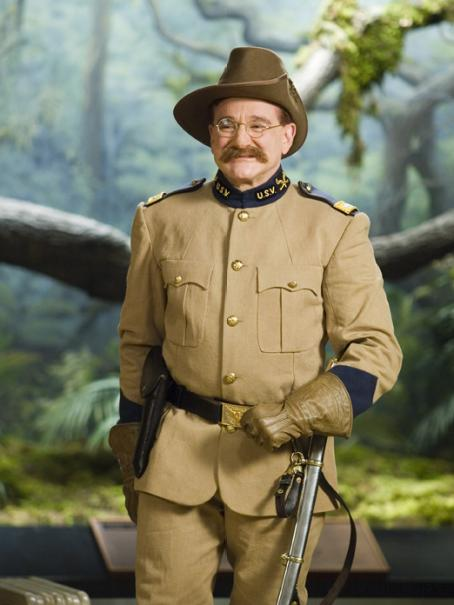 Night at the Museum Robin Williams star as Theodore Roosevelt in  - 2006