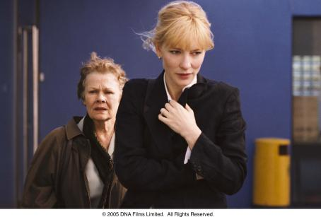 Notes on a Scandal Judi Dench and Cate Blanchett in NOTES ON A SCANDAL. Photo Credit: Clive Coote.
