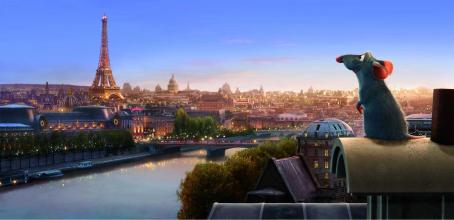 Patton Oswalt Remy (voiced by ) at Paris in Ratatouille - 2007.