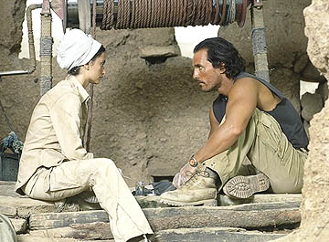 Sahara Penelope Cruz and Matthew McConaughey in Paramount's , also starring Delroy Lindo and William H. Macy.