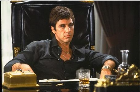 Tony Montana Al Pacino star as  in Scarface