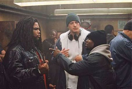 Anthony Anderson  (left), Simon Rex (center) and Kevin Hart (right)  in Dimension's Scary Movie 3 - 2003