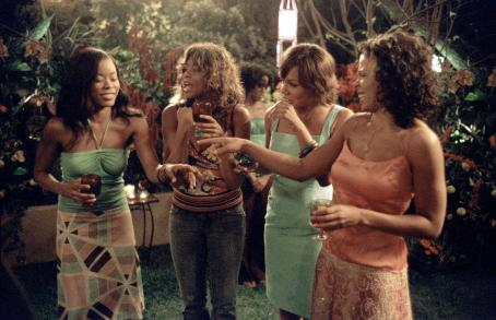 Wendy Raquel Robinson Golden Brooks (left), Taraji P. Henson (center left),  (center right) and Sanaa Lathan (right) star in Sanaa Hamri's SOMETHING NEW, a Focus Features release. Photo by Sidney Baldwin.