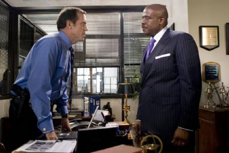 Street Kings Hugh Laurie (L) and Forest Whitaker (R) in STREET KINGS. Photo Credit: Merrick Morton