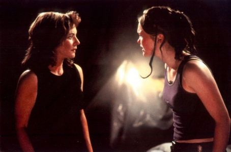 Stockard Channing  as Julie Styron and Julia Stiles as Paula Murphy in IFC Films' The Business of Strangers - 2001