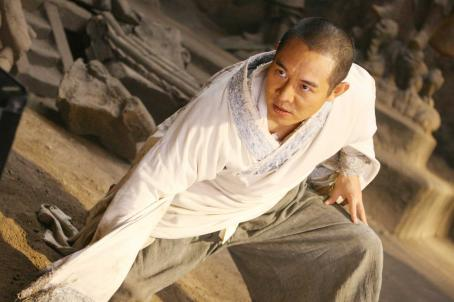 The Forbidden Kingdom Jet Li stars as Silent Monk in THE FORBIDDEN KINGDOM, directed by Rob Minkoff. Photo credit: Courtesy of Lionsgate