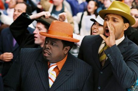 "(Left to right) Cedric the Entertainer as Ralph Kramden and Mike Epps as Ed Norton in ""The Honeymooners."" Photo by: Jonathan Hession"