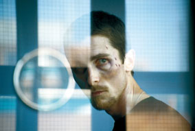 The Machinist Christian Bale in Paramount Classics THE MACHINIST, directed by Brad Anderson.