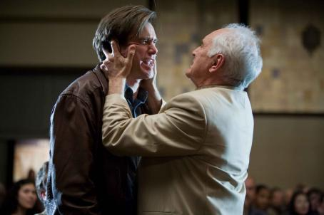 "Terence Stamp JIM CARREY as Carl Allen and TERENCE STAMP as Terrence Bundly in Warner Bros. Pictures' and Village Roadshow Pictures' comedy ""Yes Man,"" distributed by Warner Bros. Pictures. Photo by Melissa Moseley"