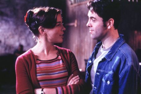 Lucky Break Olivia Williams as Annabel and James Nesbitt as Jimmy in Paramount's  - 2002