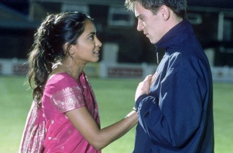 Bend It Like Beckham Left to Right: Parminder Nagra and Jonathan Rhys-Meyers