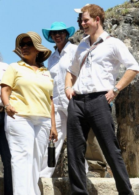 Prince Harry Windsor - Prince Harry visits the Xunantunich Mayan Temple on Saturday (March 3) in Benque Viejo del Carmen, Belize