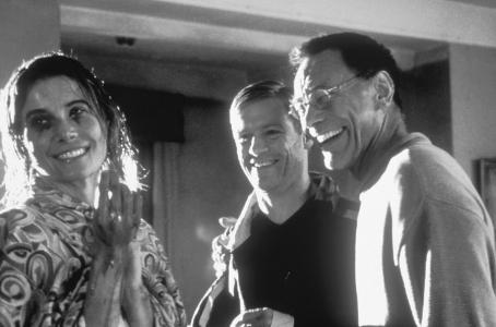 Bryan Adams Julia Vysotsky (left) as Janna,  as himself (center), and Director Andrei Konchalovsky (right)