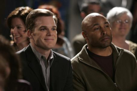 Six Feet Under Michael C. Hall and Mathew St. Patrick in : Fifth Season.