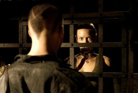 Matthew Davis  (Sebastian) and Kristanna Loken (Rayne) in Uwe Boll's 2006 action BloodRayne, distributed by Romar Entertainment