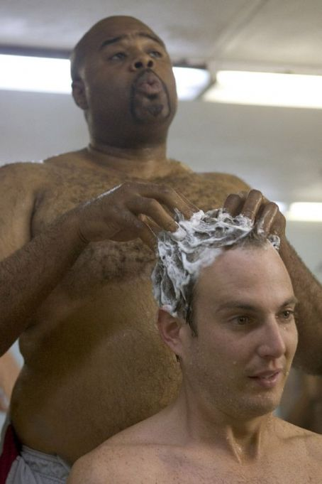 Chi McBride  and Will Arnett hairwash in Universal Pictures' Let's Go to Prison.