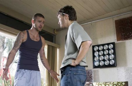 Alpha Dog Justin Timberlake star as Frankie and Emile Hirsch star as Johnny Truelove in  - 2007