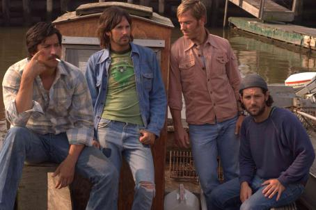 Paul Rudd Ken Marino, Josh Hamilton, Ron Eldard, and  in DIGGERS, a Magnolia Pictures Release. Photo courtesy of Magnolia Pictures.