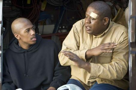 Even Money Nick Cannon and Forest Whitaker in , a Yari Film Group release.  ©2007 Yari Film Group Releasing.
