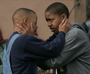 Donovan Jennings and Rodney Henry Jr. in My Brother