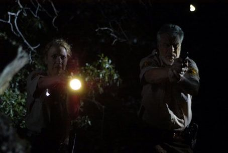 Richard Moll Gwen Davis as Wendy Simmons and  as Captain McCormac in After Dark Films' Nightmare Man.