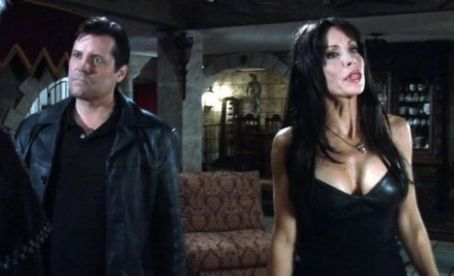 Tane McClure Jeff Rector as Richard and  as Lilith in Jeff Rector horror 'Revamped.'