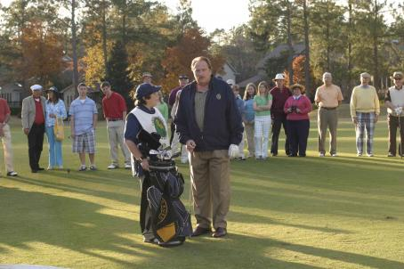 Andy Milonakis  (Wilson) and Jeffrey Jones (Cummings) star in Don Michael Paul's Who's Your Caddy? Photo by: Courtesy of Dimension Films, 2007 / Fred Norris